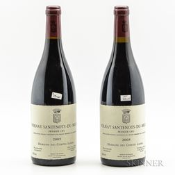 Comte Lafon Volnay Santenots du Millieu 2005, 2 bottles
