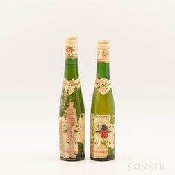 Rene Schmidt Gewurztraminer Mandelke Reserve 1970, 2 demi bottles