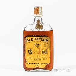 Old Taylor 14 Years Old 1916, 1 pint bottle Spirits cannot be shipped. Please see http://bit.ly/sk-spirits for more info.