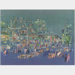 Jean Dufy (French, 1888 - 1964)  Promenade