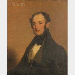 Thomas Sully (American, 1783-1872)      Portrait of Henry McIlvaine