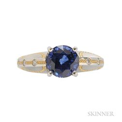 Sapphire and Diamond Ring, Zoltan David