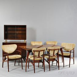 Manner of Vladmir Kagan Dining Suite