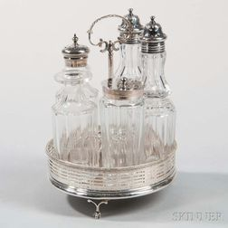 Assembled Sterling Silver Cruet Set