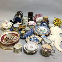 Approximately Forty Pieces of English Ceramics