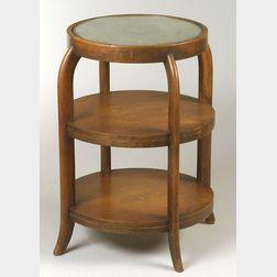 Heywood-Wakefield Mahogany Occasional Table.