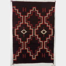 "Southwest ""Moki""-style Germantown Weaving"