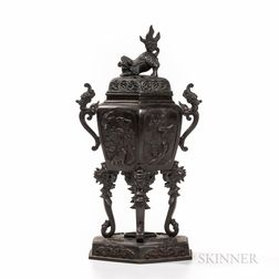 Bronze Censer and Cover