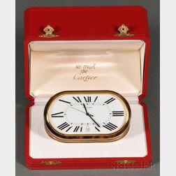 """""""Les Must de Cartier"""" Quartz Desk Clock"""