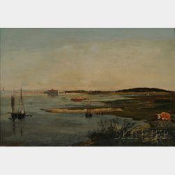 Winckworth Allan Gay (Massachusetts, 1821-1910)      Cohasset Harbour.