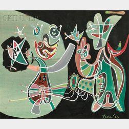 Peter Busa (American, 1914-1985)      Transfigured Night