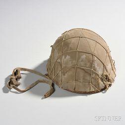 Japanese Helmet, Cover, and Net