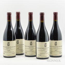 Comte Lafon Volnay Santenots du Millieu 1998, 5 bottles