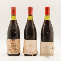 Senard Corton Bressandes 1971, 3 bottles
