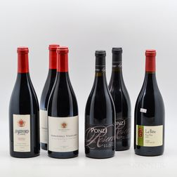 Mixed Pinot Noir, 6 bottles