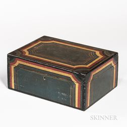 Paint-decorated Box