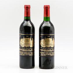 Chateau Palmer 1986, 2 bottles