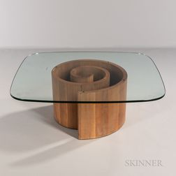 Vladimir Kagan (1927-2016) for Vladimir Kagan Designs Snail Coffee Table