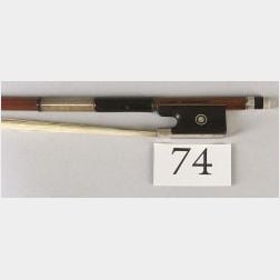 Silver Mounted Violin Bow, Albert Nurnberger Workshop