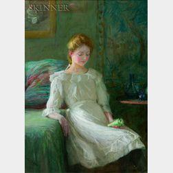 Lee Lufkin Kaula (American, 1865-1957)    Seated Woman