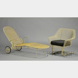 Vintage Patio Armchair and Lounge