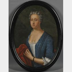 Attributed to Johannes Christoffel Schultz (Dutch, 1749-1812)      Miss Rebecca Steel, New Timber, Sussex, England