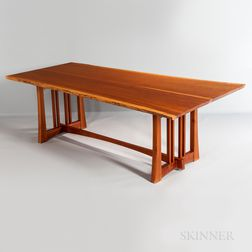 Robert Ortiz Live-edge Cherry Dining Table