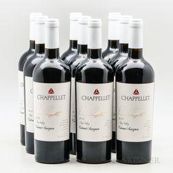 Chappellet Cabernet Sauvignon Signature, 9 bottles