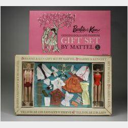 Barbie and Ken Gift Set in Original Box, #892