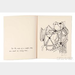 Ben Shahn (American, 1898-1969)      Two Partial Portfolios of For the Sake of a Single Verse   by Rainer Maria Rilke