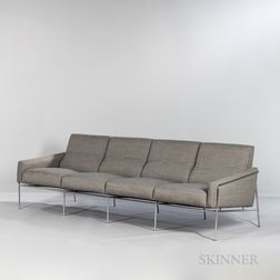 "Arne Jacobsen (1902-1971) for Fritz Hansen ""Model 3304"" Sofa"