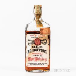 Old Bridgeport Rye, 1 pint bottle Spirits cannot be shipped. Please see http://bit.ly/sk-spirits for more info.