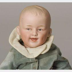 Heubach Bisque Head Character Baby