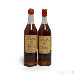 Darroze Dupont 28 Years Old 1977, 2 750ml bottles