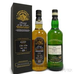 Mixed Single Malt Scotch, 2 750ml bottles