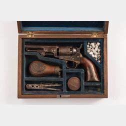 Cased Colt Model 1849 Pocket Revolver