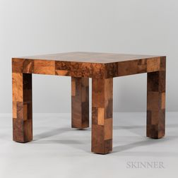 """Paul Evans (1931-1987) for Directional """"Cityscape"""" End Table"""