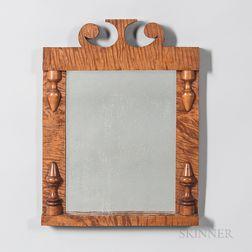 Tiger Maple Mirror