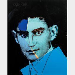 Andy Warhol (American, 1928-1987)      Franz Kafka