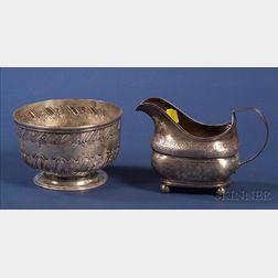Two British George III Silver Tablewares
