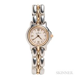 Gold and Stainless Steel Wristwatch, Bertolucci