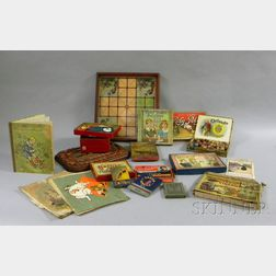 Group of Late 19th/Early 20th Century Games and Toys