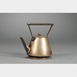 Christopher Dresser (1834-1904) Teapot for Hukin & Heath