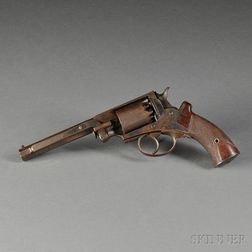 Martially Marked Massachusetts Arms Adams Patent Navy Model Revolver