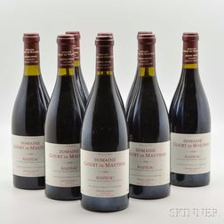 Domaine Gourt de Mautens Rasteau 1998, 8 bottles