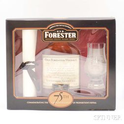 Old Forester   75th Anniversary Set