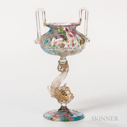 Ernesto Graziadei Blown Glass Chalice