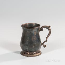 George II Sterling Silver Cann