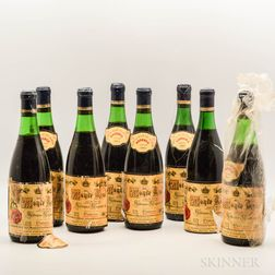 Bodegas Riojanas Monte Real, 8 bottles