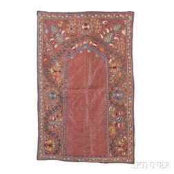 Shahrisyabz Silk Prayer Suzani